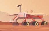 Le développement des rovers pour l'exploration spatiale  a poussé le développement de la robotique en général. Illustration : mikalaimanyshau/Fotolia
