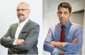 Boris Calmette (ccvf) et Thomas Montagne (CEVI)