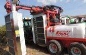démonstration de pulvérisation confinée, outils de travail du sol et tondeuse interceps.