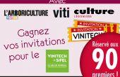 Avec Viti, gagnez vos invitations au salon Vinitech-Sifel 2016!