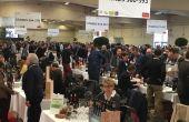 Salon des vins Millésime bio 2018 à Montpellier (S.Favre/Pixel Image)