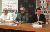 Jean-Marie Fabre des Vignerons Indépendants Occitanie, Boris Calmette de Coop de France LR et Jacques Gravegal, président de l'IGP Pays d'Oc proposent une segmentation plus claire des IGP du Languedoc (S.Favre/Pixel Image)