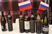 Les vins russes étaient proposés à la dégustation à la Cité du vin de Bordeaux .Photo : S.Badet