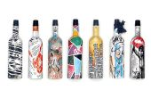 Frugalpac, entreprise britannique spécialisée dans l'emballage durable, lance en 2020 «Frugal», une bouteille de 75 cl en papier recyclé pour les vins et spiritueux. Photo: Frugalpac