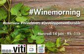Edition spéciale ! Le #WineMorning, votre matinale actu vigne et vin sur Twitter, est parti à la rencontre d'un regroupement de vignerons : les VDD, vignerons en développement durable.